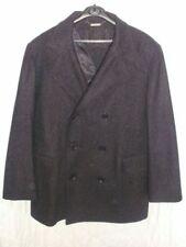 Blazer Hip Length Wool Collared Coats & Jackets for Men