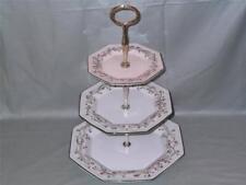 Johnson Brothers Eternal Beau 3-Tier Hostess Cake Plate Stand