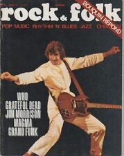 """ROCK & FOLK n°55 août 1971"" Pete TOWNSHEND (WHO) Photo Jean-Pierre LELOIR"