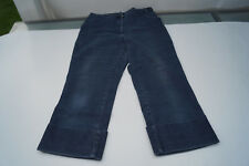 BRAX Damen stretch Sommer Hose Jeans Short Bermuda Capri Gr.40 regular blau #99