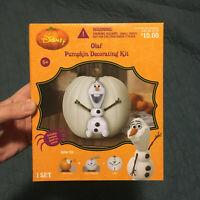 "Disney Olaf Snowman ""Frozen"" Pumpkin Decorating Kit - New"