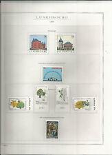 LUSSEMBURGO 1959/95 COLLEZIONE COMPLETA NUOVA ** TUTTE LE FOTO  SU FOGLI  MARINI