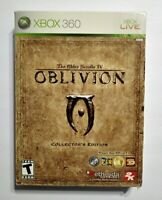 The Elder Scrolls IV Oblivion Collector's Edition for Microsoft Xbox 360 NO COIN
