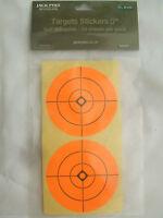 "Stick on Orange Target Spots 3"" Rifle, Air Rifle Airgun Practice Zeroing Targets"