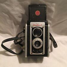 Vintage Kodak Duaflex II Camera with Kodar 72mm f:8 Lens w/Strap UNTESTED AS-IS