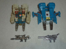 VINTAGE G1 TRANSFORMERS FIGURE ROBOT JUMPSTARTER LOT TWIN TWIST TOP SPIN 1984