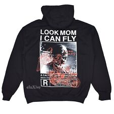 NEW Travis Scott Look Mom I Can Fly Cactus Jack Graphic Hoodie Blk M L AUTHENTIC