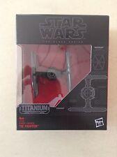 Star Wars-Black Series De Titanio-primera orden Tie Fighter-Nuevo Y En Caja