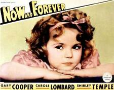 NOW AND FOREVER Movie POSTER 11x14 B Gary Cooper Carole Lombard Shirley Temple