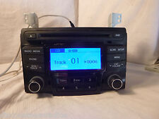 11 12 2011 2012 Hyundai Sonata Radio Cd MP3 Player 96180-3Q700 BF 114