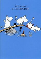 Moomin Diving Make a Splash on your Birthday Card - FREE 1ST CLASS POST