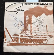 GILLAN New Orleans Janick Gers Signed Iron Maiden