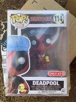 Funko POP! Deadpool Bath Time Rubber Duckey Target *NEW *Protector DAMAGED