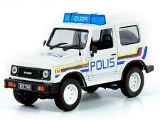 SUZUKI SAMURAI Malaysia Police -- 1/43 -- De Agostini - IXO -- NEW