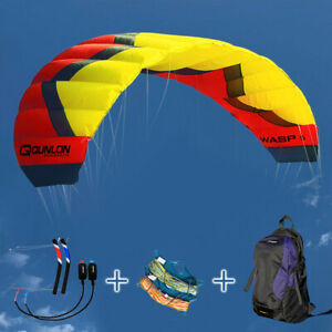 5M² 4 Line Traction Kite for Outdoor Kitesurfing Flying Sports with Surfing Sets