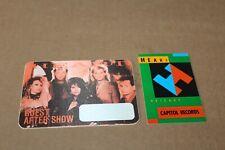 Heart -  2 x  Backstage Pass - Lot # 3   - FREE SHIPPING -