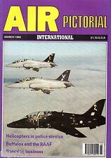 Air Pictorial Magazine 1992 March Phantom,RAAF Brewster Buffalo,Metro Air DHC-6,