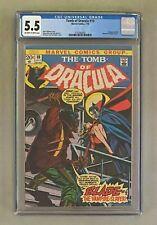 TOMB OF DRACULA #10 Marvel 1973 CGC 5.5 BLADE Vampire Slayer 1st Appearance