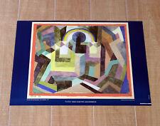 PAUL KLEE CON L'ARCOBALENO poster manifesto affiche Mit dem Regenbogen C20