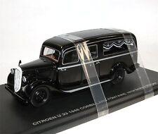 Perfex 504, citroen u23 corbillard Fontaine, Hearse, coche fúnebre, 1948, 1/43