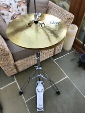 More details for sabian sbr bright performance ride and hi - hat cymbals set