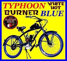 "High Performance Diy 2-Stroke 66Cc/80Cc Motorized Bicycle Kit With Blue 26"" Bike"