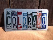 Colorado License Plate Art Wholesale Novelty Bar Wall Decor