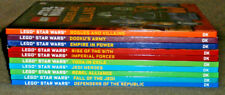 Lego Star Wars 10 Book Collection~Hardcover~DK Books / Disney