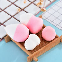 Professional Beauty Makeup Sponge 4pcs Flawless Puff Smooth Powder Foundation