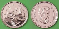 2004 Canada (P Mark) Regular 25 Cents From Mint's Original Roll