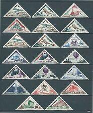 Monaco  - 1956 - Tb Taxe surch - N° 453 à 472 - Neufs** - MNH