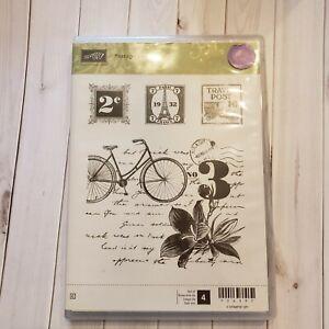 "Stampin' Up ""Postage Due"" Stamp Set"