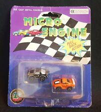 DIE CAST METAL CHASSIS MICRO ENGINE PULL BACK ACTION