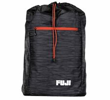 Fuji Sports BJJ Jiu-Jitsu Lightweight Gi BackPack Gear Bag Gearbag  - Black