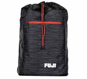 Fuji Sports BJJ Jiu-Jitsu Lightweight Gi BackPack Gear Bag Gearbag  - Black