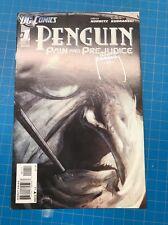 1/2 SALE DC* Penguin:Pain & Prejudice #1 Signed Kudranski SPAWN 2011 BONUS #2-5