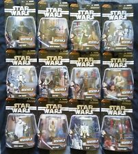 STAR WARS THE SAGA COLLECTION EPISODE III HEROES & VILLAINS COMPLETE SET OF 12