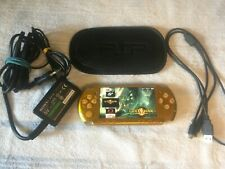 psp 3006 Gold , 32gb memory card, charging, usb cable