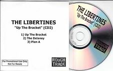 THE LIBERTINES Up The Bracket 2002 UK 3-track promo test CD