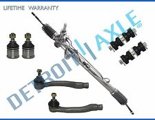 7pc Complete Power Steering Rack and Pinion Suspension Kit for Honda Civic No SI