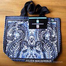 Julien Macdonald Bags of Ethics Designer Shopping Tote Bag Cotton BNWT