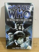 Doctor Who: The Faceless Ones & The Web Of Fear Vhs Video: Patrick Throughton