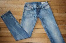 DIESEL  Jeans pour Femme W 25 - L 32 Taille Fr 34 MATIC (Réf #Y138)