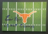 ERNIE KOY NCAA Texas Longhorns Football Auto Autographed Signed 4x6 Photo 5