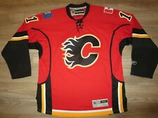 Mikael Backlund #11 Calgary Flames NHL Hockey Jersey XL Autograph Signed
