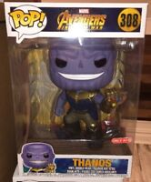 "Funko Pop! Marvel Avengers Infinity War THANOS #308 10"" Target Exclusive"