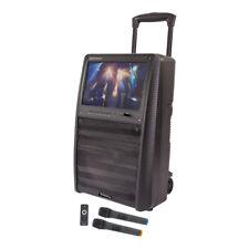 Ibiza Sound 800 W Sistema de Karaoke TFT independiente micrófonos inalámbricos Inc.
