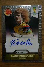 2014 Panini Fifa World Cup Signatures Carlos Valderrama El Pibe Colombia Auto