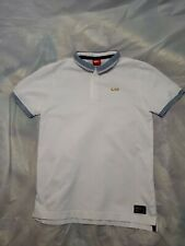 Nike F.C Polo Shirt W/ 1/4 Zip White