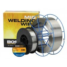Bossweld Stainless Steel E316LSi MIG Wire 0.9mm x 1kg Spool / Roll New